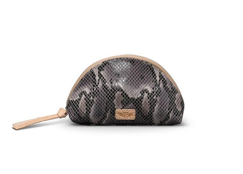 Flynn Grey Snake Medium Cosmetic Dome 7577