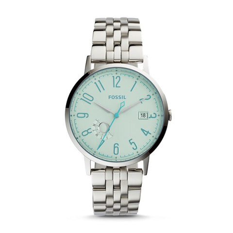 Fossil Vintage Muse Three-Hand Date Stainless Steel Watch