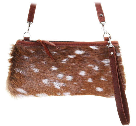 Little Clutch-Axis Hide Front-Brandy Pull-Up Back, Trim & Strap