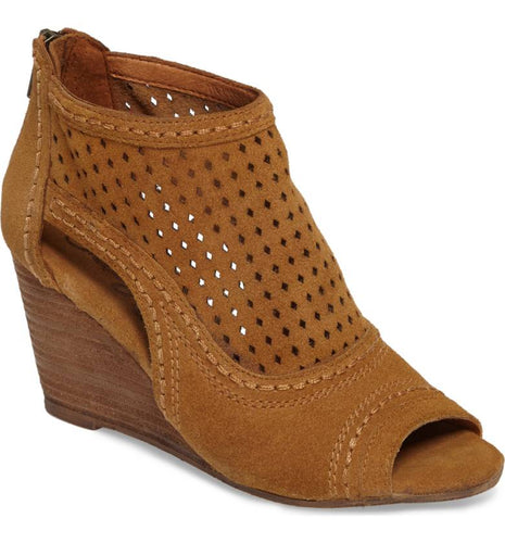 Sharon Perforated Wedge Sandal