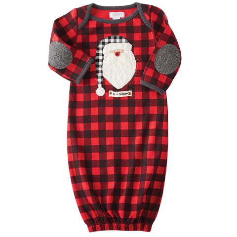 Santa Sleep Gown by Mud Pie