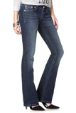 Totally Mesmerized Flap Boot Cut Jeans