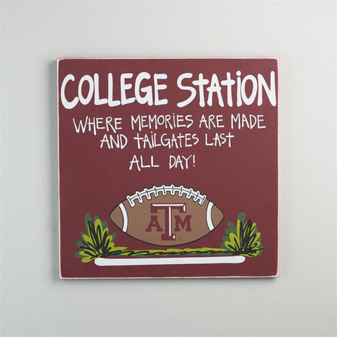 Texas A&M Tailgate Sign