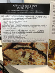 Caramelized Onion Baked Dip Mix