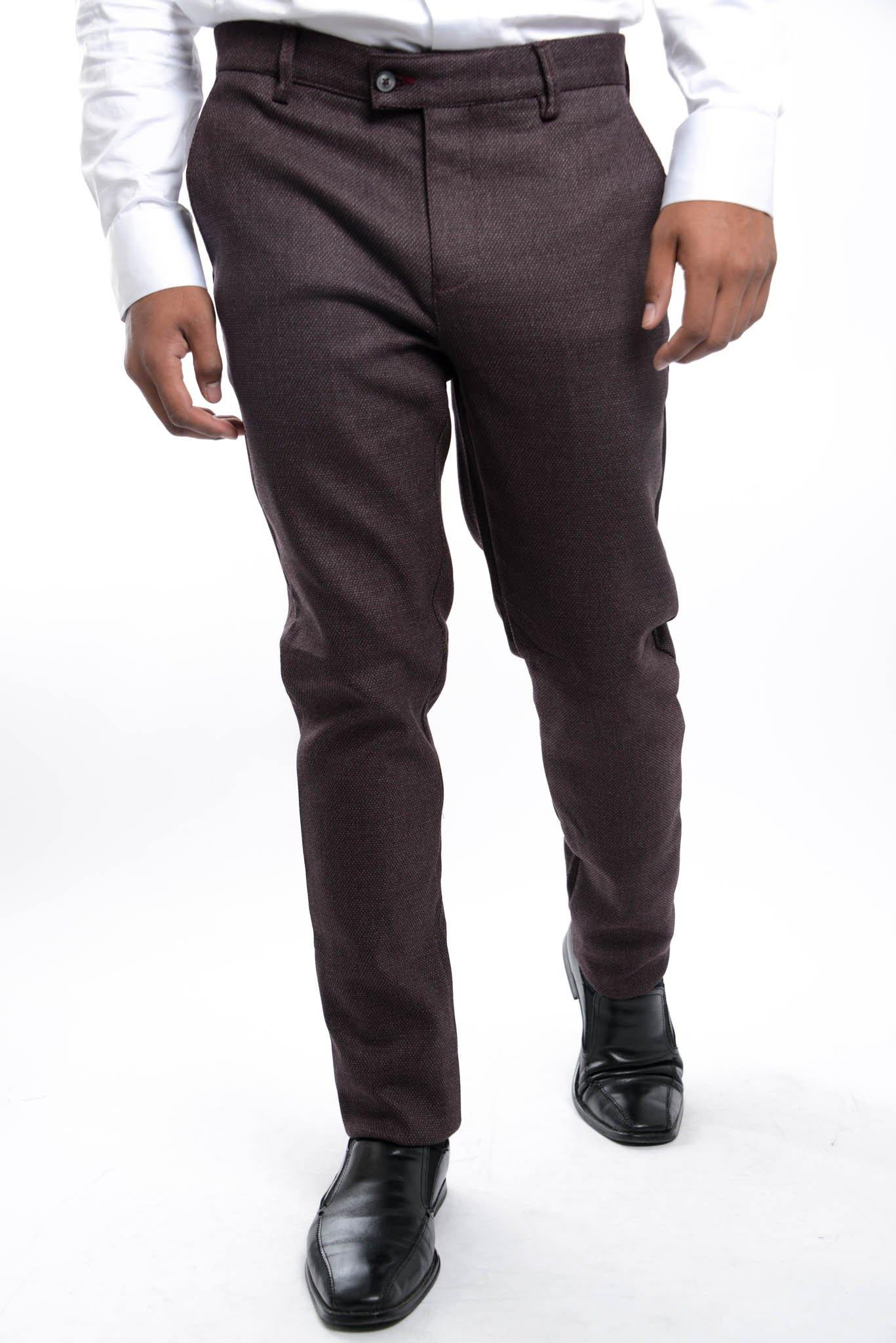 Euro Heathered Pique Trouser - Haight & Ashbury