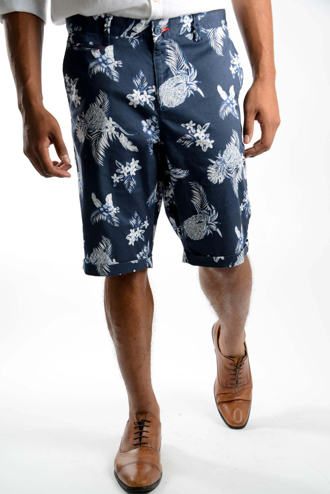 Pineapple Print Short - Haight & Ashbury