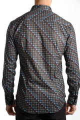 Long Sleeve Mission Digital Print Shirt