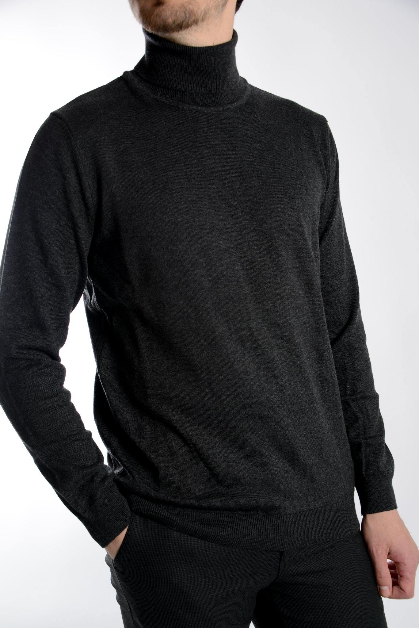 Cambridge Relaxed Fit Turtleneck Euro Sweater - Haight & Ashbury