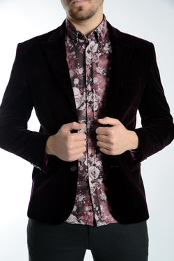 Northwood Velvet Blazer