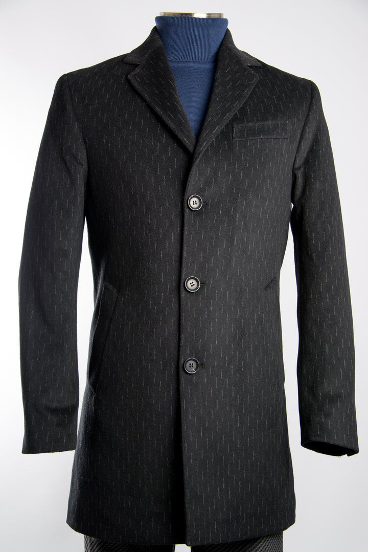 Preston Dash Stripe Coat