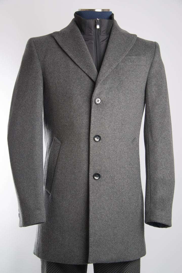 Preston Funnel Neck Coat