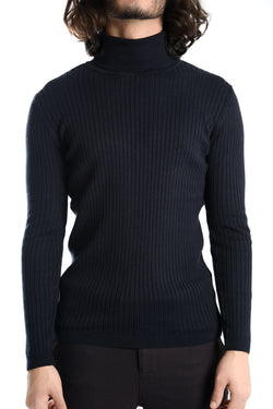 Leeds Slim Fit Turtleneck Euro Sweater