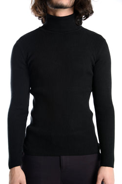 Leeds Super Slim Fit Turtleneck Euro Sweater