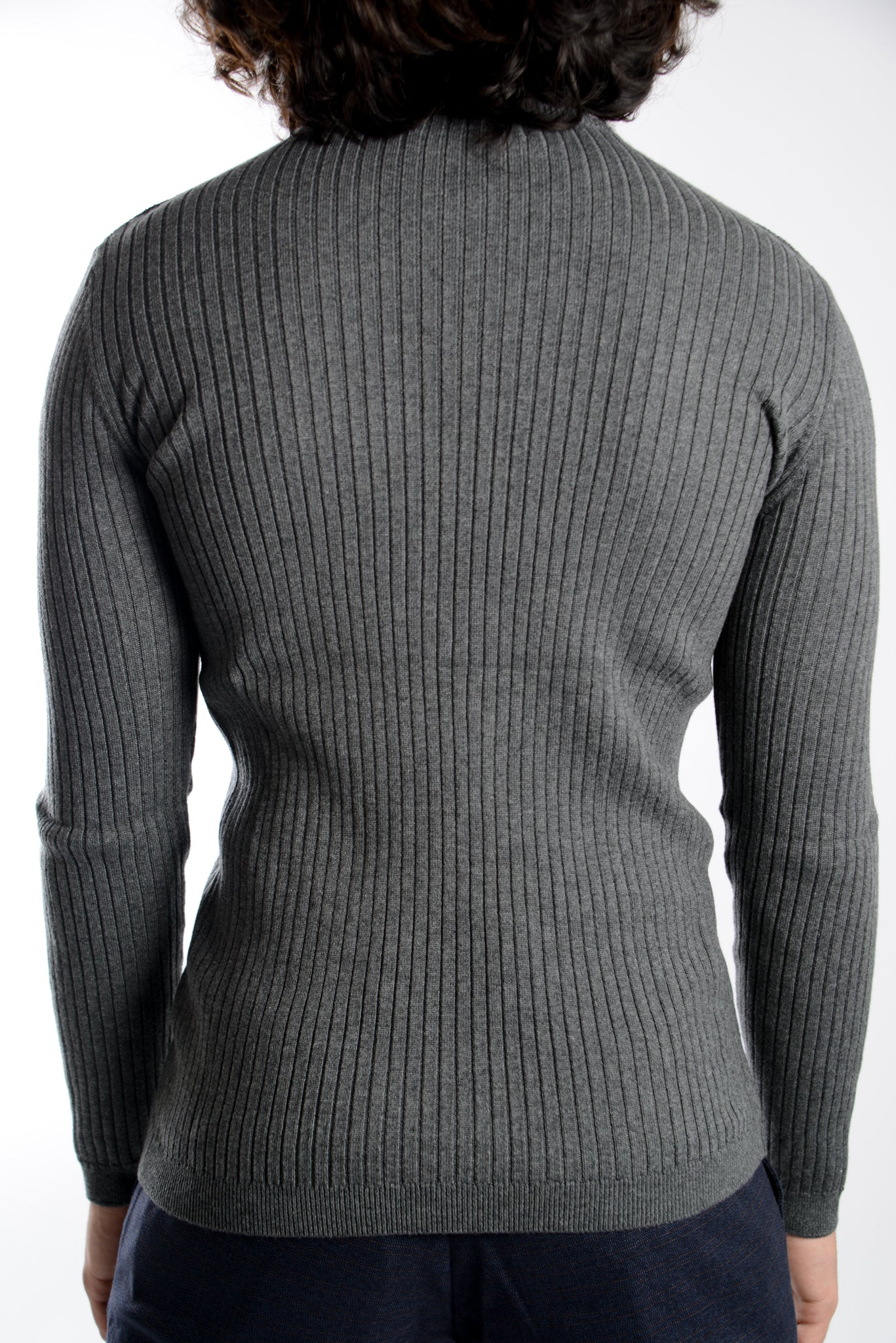 Leeds Slim Fit Mockneck Euro Sweater