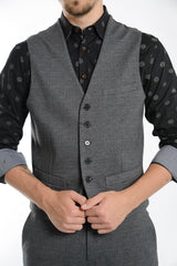 Bank Glen Plaid Active Vest
