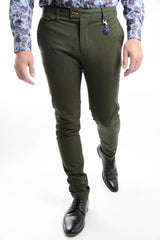 Euro Brushed Chino Pant