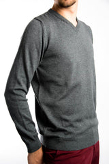 Cambridge V-Neck Euro Sweater