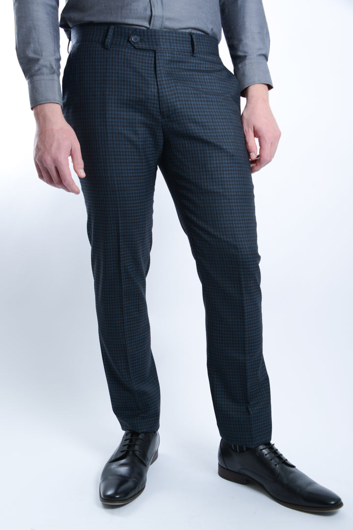 Upton Multi Color Check Pant