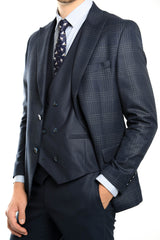 Euro Plaid Sportcoat