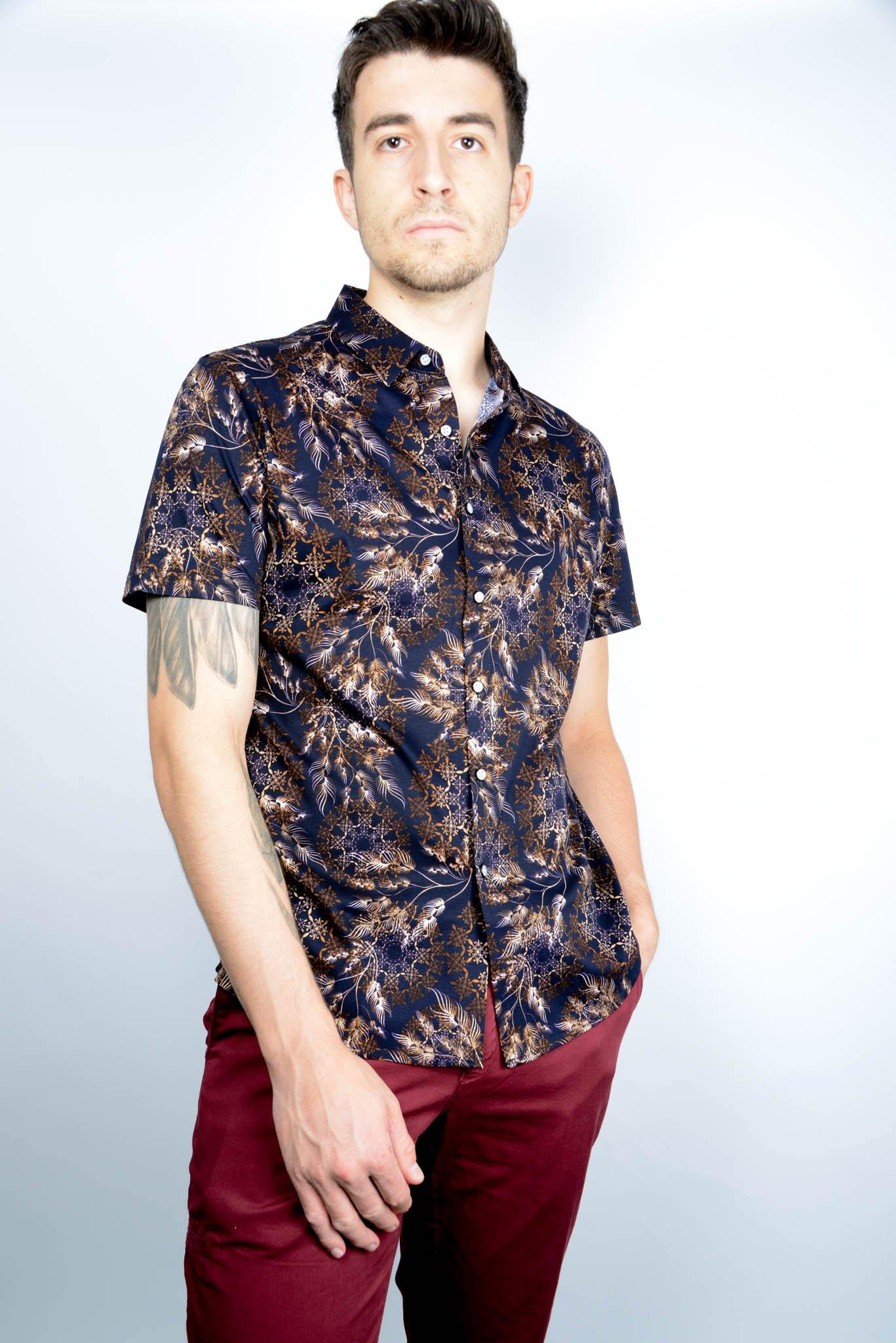 Liquid Cotton Full Btn Polo - Haight & Ashbury