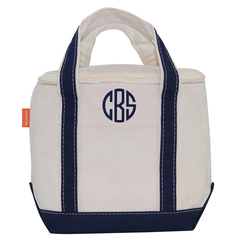 Canvas Small Lunch Cooler Tote