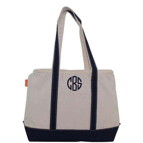 Canvas Large Lunch Cooler Tote