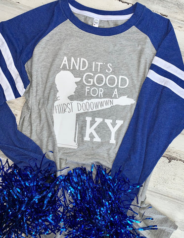 And It's Good For A First Down KY Tee
