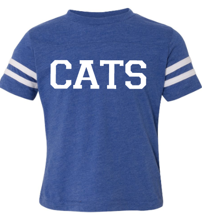 CATS Football Jersey Tee Youth/Toddler