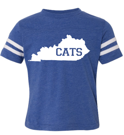 CATS State Football Jersey Tee Youth/Toddler