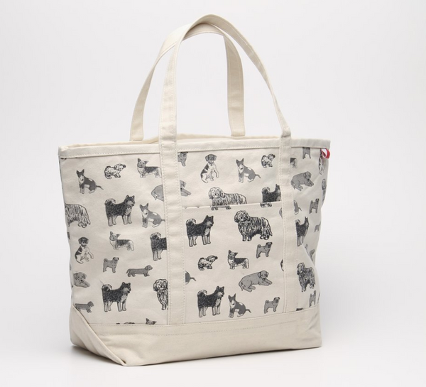 Puppy Love Everywhere Classic XL Boat Tote and Pouch