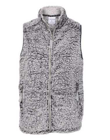 *NEW* Ladies Sherpa Full Zip Vest