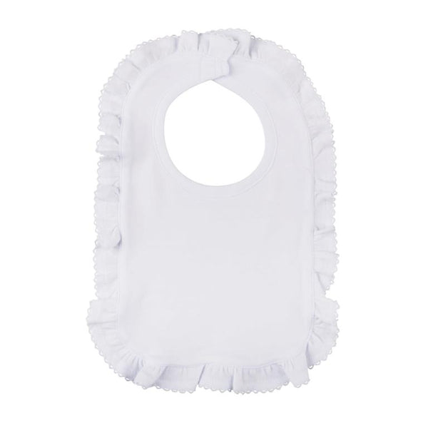 Pima Cotton White Ruffle Layette