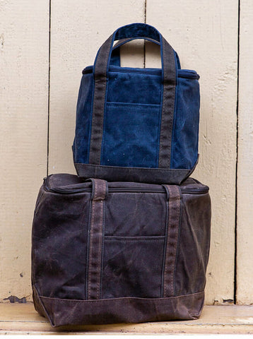 Clearance Waxed Canvas Lunch Cooler Tote