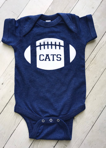 Football CATS Bodysuit