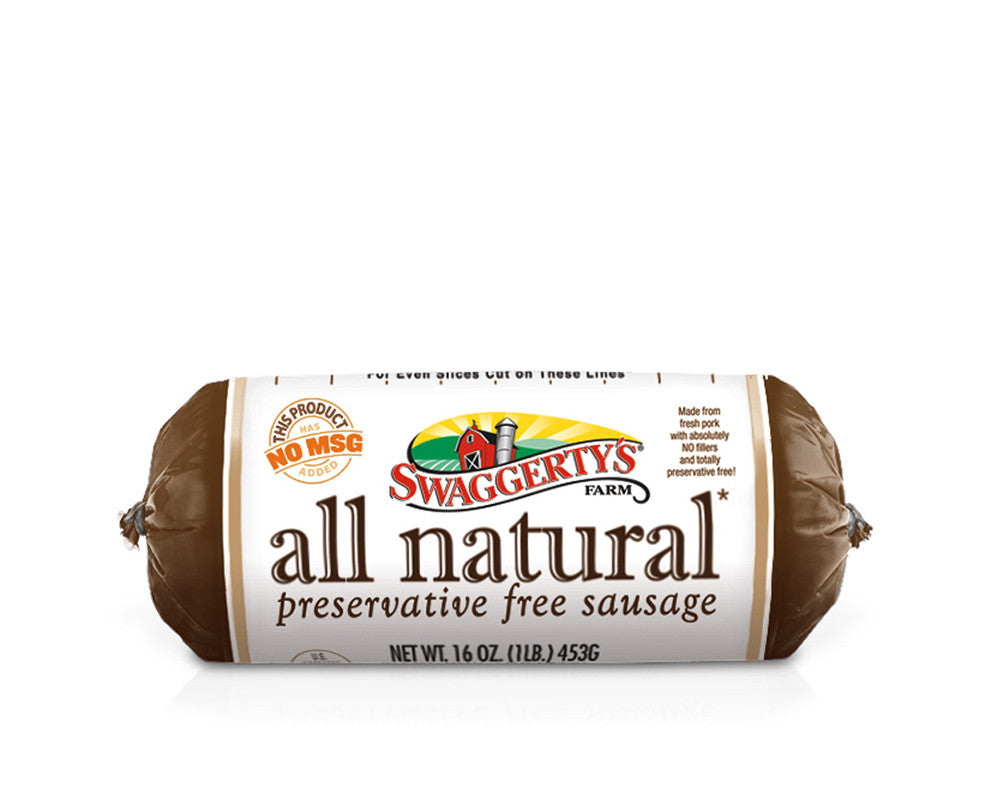 All Natural Premium Pork Sausage Rolls<br>(12 rolls)