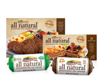 All Natural Premium Pork Sausage Collection <br>(3 boxes, 4 rolls)