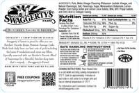 Swaggerty's Farm 12oz Pork Sausage Links - Nutrition Facts