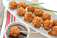 Gluten Free All Natural Sausage Balls - Recipe Idea by Swaggety's Farm