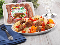 Premium Pork Dinner Sausage Collection<br>(12 assorted tray packs)
