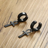Antique Ankh Earrings