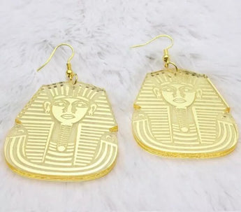 Pharoah Acrylic Earrings