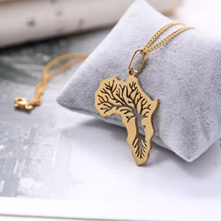 Tree of Life Africa Necklace