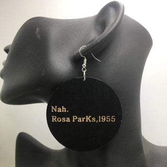 Rosa Parks Earrings