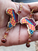 Graffiti Africa Earrings