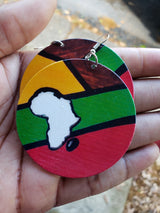 Africa Bold Earrings