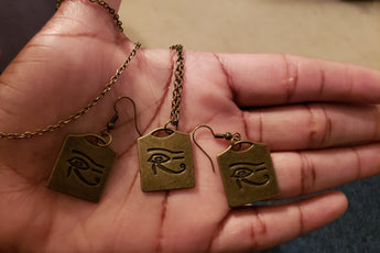 Vintage Eye of Horus Set