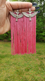 Isis Tassel Earrings