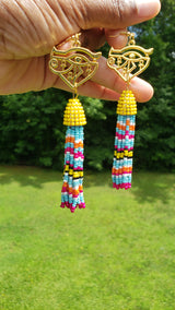 Life Tassel Earrings