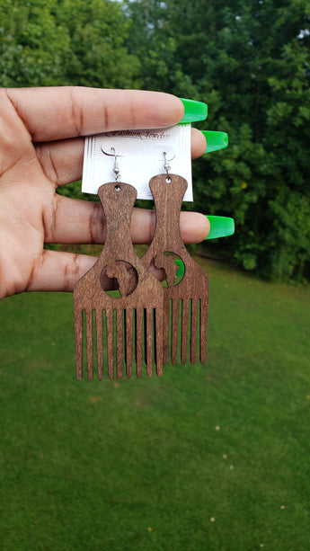 Africa Pick Earrings