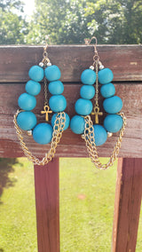 Ankhs & Chains Earrings